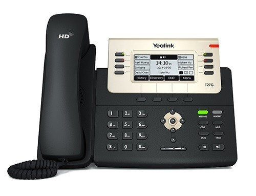 گوشی تلفن Yealink SIP-T27G IP PHONE