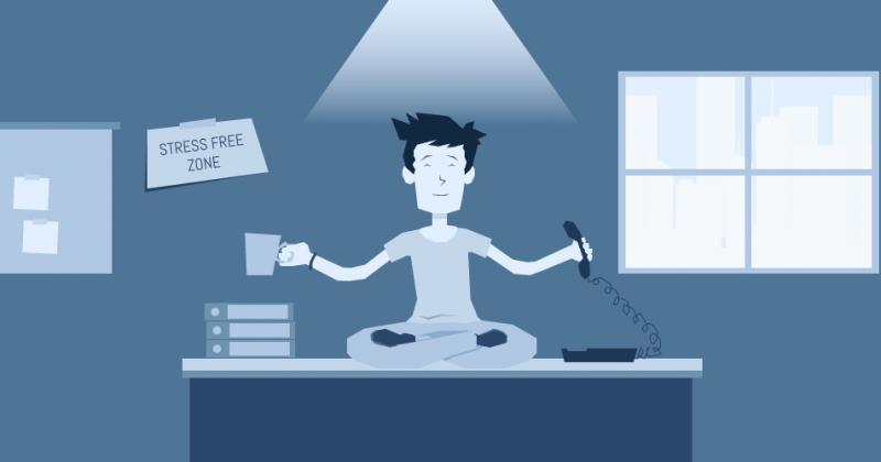 چهار روشی که سیستم ویپvoip به کاهش استرس کارکنان کمک میکند